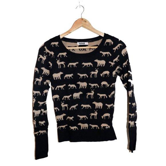 💫 3/$30 - Garage Animal Sweater